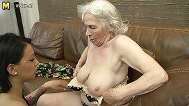 Blondi tehdä super sinulle kiimainen vanha nainen