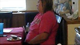 Vaimo Paksu Isot tissit esittelee itsensä edessä keittiön webcam. ylilauta seksivideo